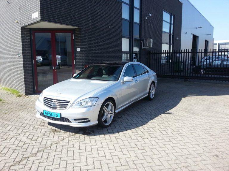 Mercedes Benz S Klasse taxi