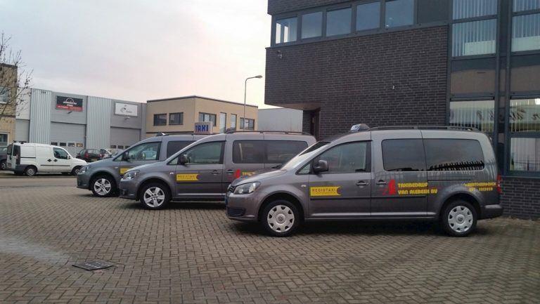 Taxi's Regiotaxi Den Bosch